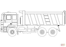 Coloring Pages Dump Truck Coloring Page Free Printable Pages Dump
