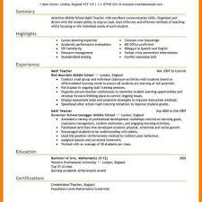 Resume Teacher Template. Teacher Resume Samples Pdf Archives Resume ...