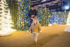 Qwest Field Christmas Lights Seattle Maze