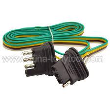 china 4 way 4 pin plug flat 20 gauge trailer light wiring harness extension china trailer wiring harness trailer light wiring harness