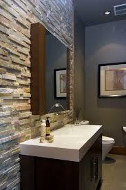 Small Picture Love the look of stacked stone in the bathroom so easy with our