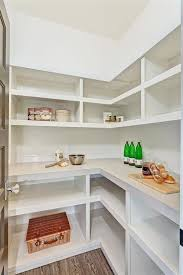 l shaped pantry shelves walk in pantry shelves transitional kitchen clark and co homes