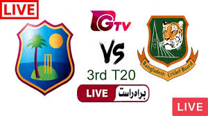 Gazi TV Live Cricket Match Today Online Bangladesh vs West Indies 3rd T20  2018 - YouTube