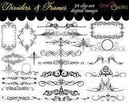 frame clip art digital frame clipart flourish clip art digital Wedding Invitation Flourish Graphics Wedding Invitation Flourish Graphics #27 Handmade Wedding Invitations