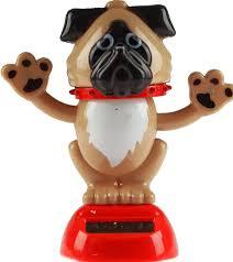 puckator solar powered dancing dog novelty desk toy ornament co uk toys