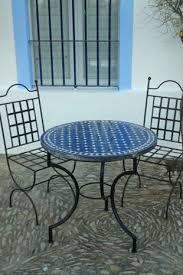 moroccan garden furniture. Mosaic Tables Kilim Cushion; Pouffes Blue Moroccan Table Garden Furniture