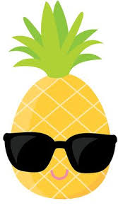 pineapple with sunglasses clipart. gifs divertidos pineapple with sunglasses clipart e