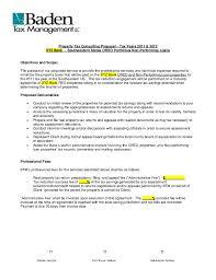 Sample Proposal Oreo Property Tax Service 2011 2012
