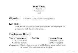 Correct Resume Format Stunning Correct Resume Format 48 Format Of Resume For Ojt Hrm Standard