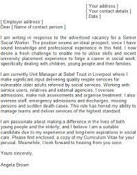 Best Ideas Of Sample Social Worker Cover Letter In Social Work Cover