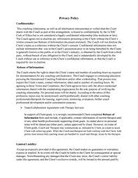Confidentiality Agreement Privacy Policy By Tiffinikristinaa - Issuu
