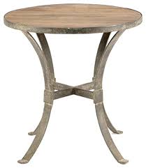 rustic round end table. Rustic Round End Table Modern Reclaimed Wood Rust Iron Side Tables D