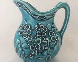 Decorative Ceramic Pitchers Decorative pitcher Etsy 88