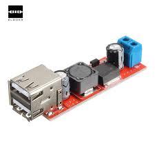 1PC Dual USB Output <b>DC DC 9V/12V/24V</b>/36V to <b>5V</b> 3A Step Down ...