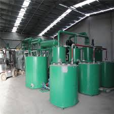 engine oil recycle plant