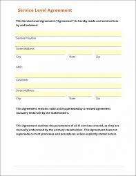 help desk service level agreement template agreement sample sla service level call center definition itil