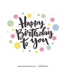 Happy Birthday Card Design Stock Vector 530065843 Shutterstock