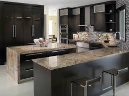 Small Picture Luxury Modern Kitchens with Granite Countertops