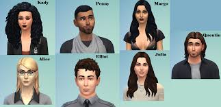 I tried my best at recreating the cast from The Magicians. no cc : Sims4