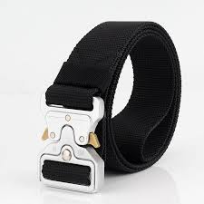 New Cobra Belt Quick Release Genuine <b>Nylon Outdoor Tactical</b> Belt ...