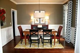 black painted furniture ideas. Table Set Centerpiece Dining Room Paint Color Ideas Wooden Huge Framed Bay Window 60 Inch Tv Led Black Base Furniture Painted