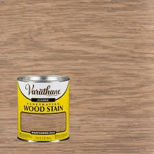 Varathane Classic Wood Stain Color Chart Varathane 1 Qt Weathered Oak Classic Wood Interior Stain 2