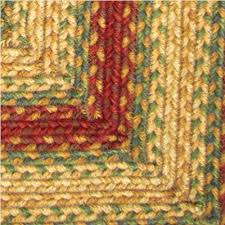 Country Style Braided Cotton Rugs - Sample Swatches
