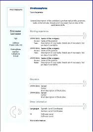 Free Modern Resume Templates Google Docs Modern Resume Template Resume Template With Photo Doc Free Resume