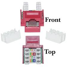 similiar cat5e punch down diagram keywords cat5e keystone jack red rj45 female to 110 punch down part number
