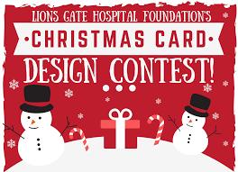 Photo Christmas Card Lions Gate Hospital Foundation Christmas Card Design Contest