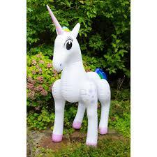 life size unicorns life size inflateable unicorn getdigital