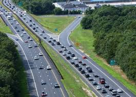 traffic traffic crawls on the garden state parkway