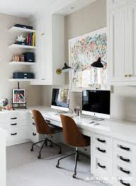 home office for 2. Beautiful Home Home Office With Built In Side By Desks With For 2 G