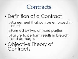 Business Law Business Law Introduction To Contracts