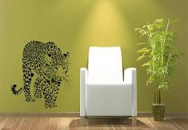 wall decal leopard a majestic predator animals