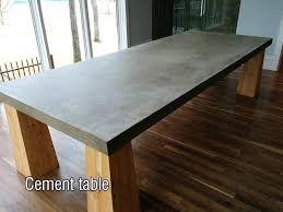 concrete table top concrete tables round concrete table top mold