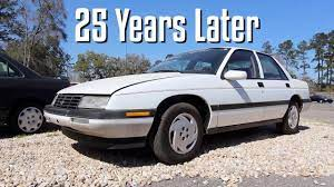 25 Years Later The 1993 Chevrolet Corsica Lt Review Condition In 2018 Youtube