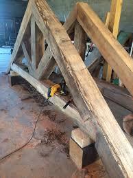 custom timber trusses