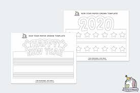Find more crown coloring page printable pictures from our search. 2021 Diy New Year S Eve Paper Crowns
