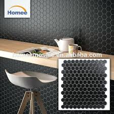 matte black backsplash tile kitchen good matte black mosaic tile premium hexagon mosaic matte black