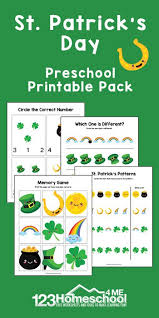 st patrick s day printable worksheets