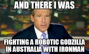 Brian Williams Was There Meme - Imgflip via Relatably.com