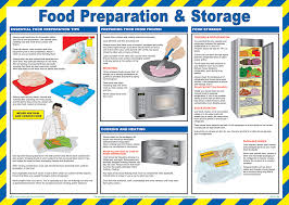 Food Hygiene Poster Food Preparation Poster From Safety Sign Supplies