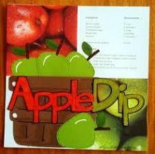 apple dip sbook recipe book cookbook recipes cookbook ideas card book making