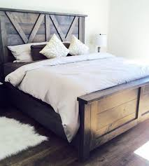 farmhouse style furniture. barn door style farmhouse bed x styling so beautiful handmade furniture r