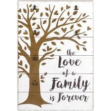 Hallmark Family Tree Photo Display Stand Family Tree Wood Picture Holder Sign with Metal Clips Picture 37