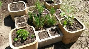 how to make an herb garden.  Herb How To Make Miniature Herb Garden  Lavenders Half Barrels And An