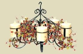 large candle chandelier large black candle chandelier image design