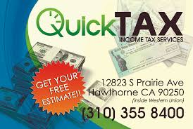 estimates quick tax services call today