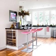 Pinky Breakfast Bar Decor Design